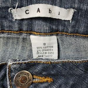 CAbi Women's Bootcut Dark Wash Blue Jeans